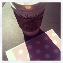 Sunday at Starbucks - Chai Tea Latte